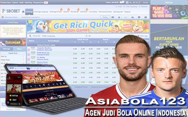 Agen Judi Bola Online Indonesia